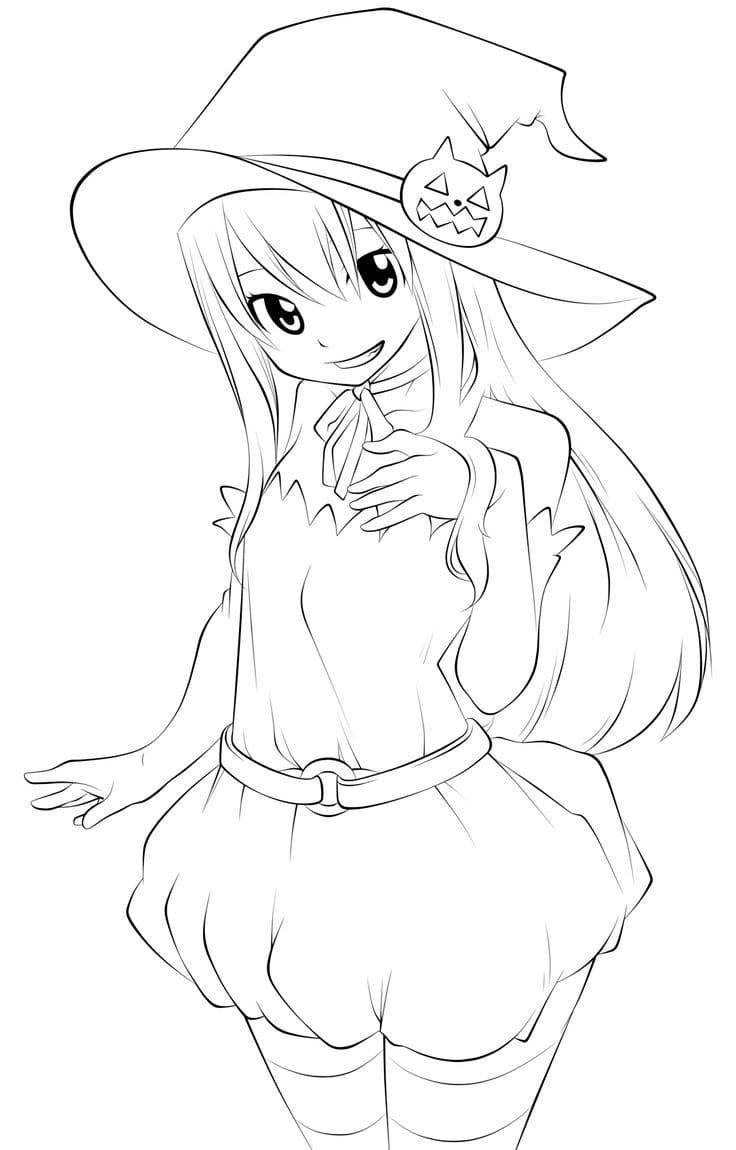 Coloriage Fairy Tai. Imprimer des personnages de dessins animés gratuits