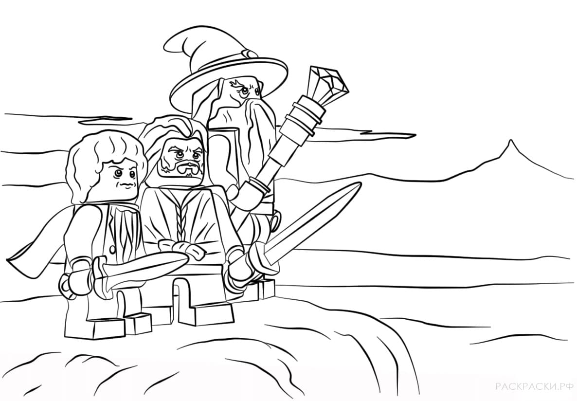 Lego Coloring Pages. Download or print for free, 32 images