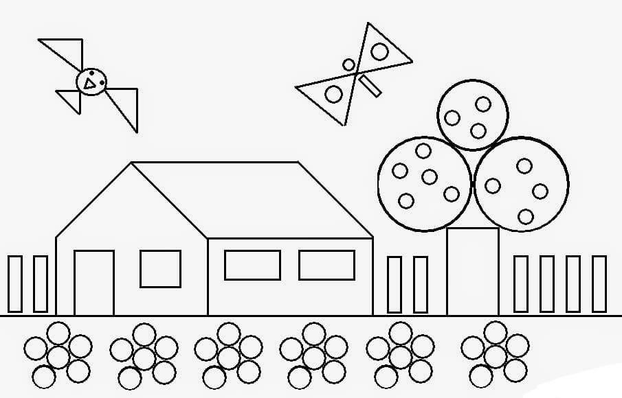Dibujos Para Colorear Formas Geometricas Imprime Gratis Para Ninos