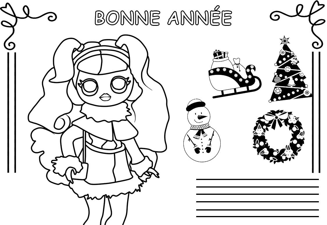 LOL Surprise poupée à colorier. Imprimez gratuitement! Toutes les séries