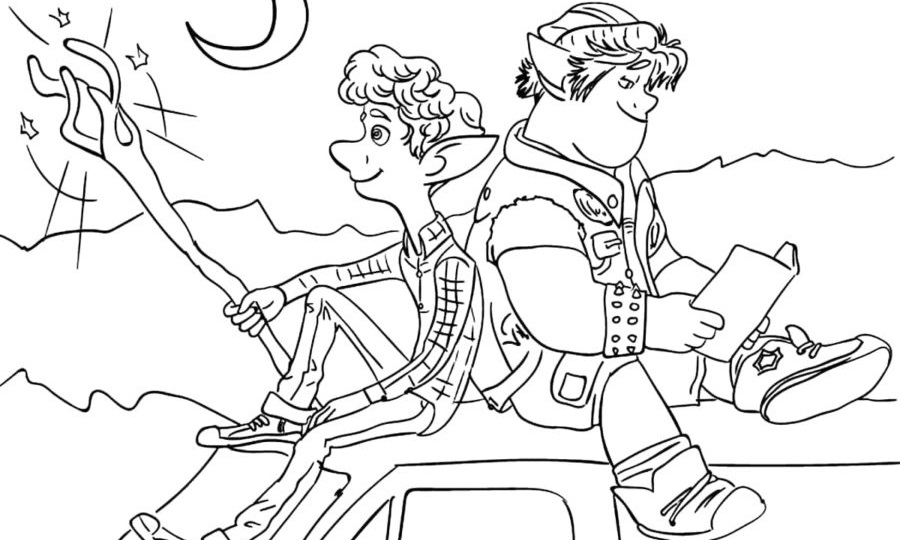 Onward Coloring Pages. 40 Unique Images Free Printable