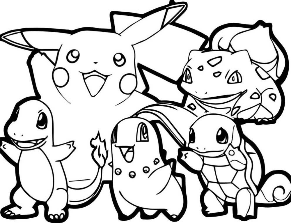 Pokemon Coloring Pages. 100 Best Free Printables Images