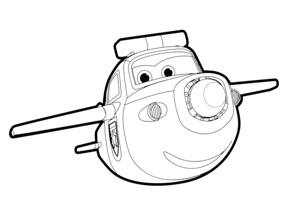 Super Wings Coloring Pages. 100 Best Images Free Printable