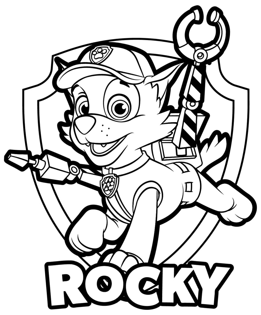 - Paw Patrol Coloring Pages. 75 Pictures. Print For Free