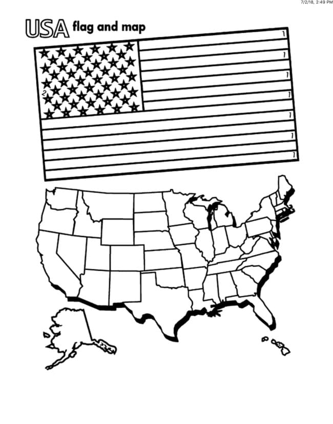 - American Flag Coloring Pages. You Can Print On The Site For Free