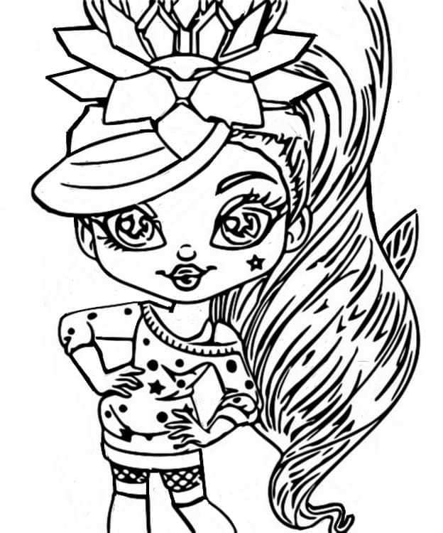 Awesome Bloss'ems Coloring Pages. Print dolls for free