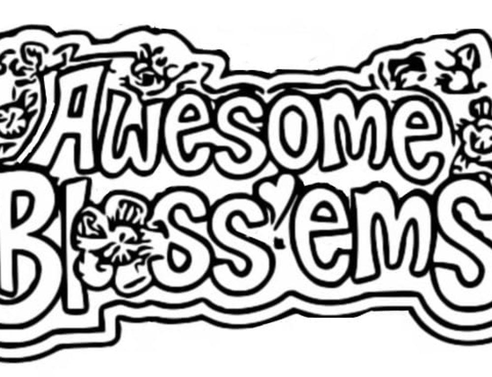 Desenhos para colorir Awesome Bloss'ems. Imprimir gratuitamente