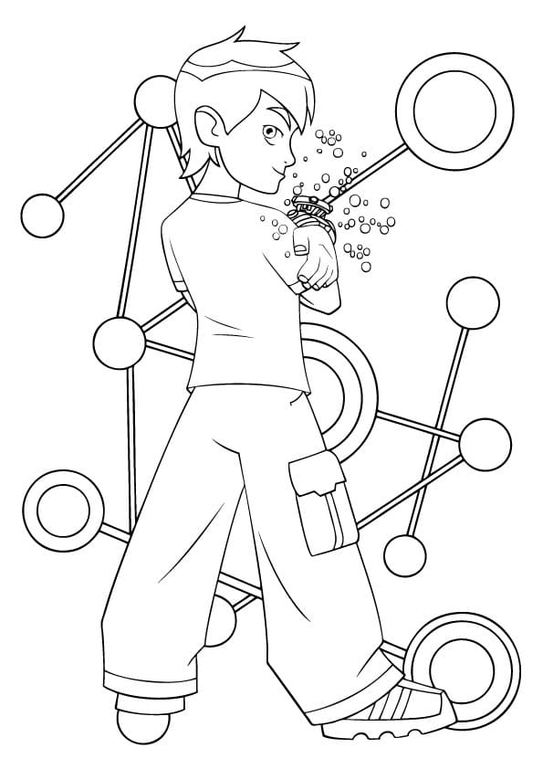 Ben 10 Coloring pages. Download or Print for free, 130 images