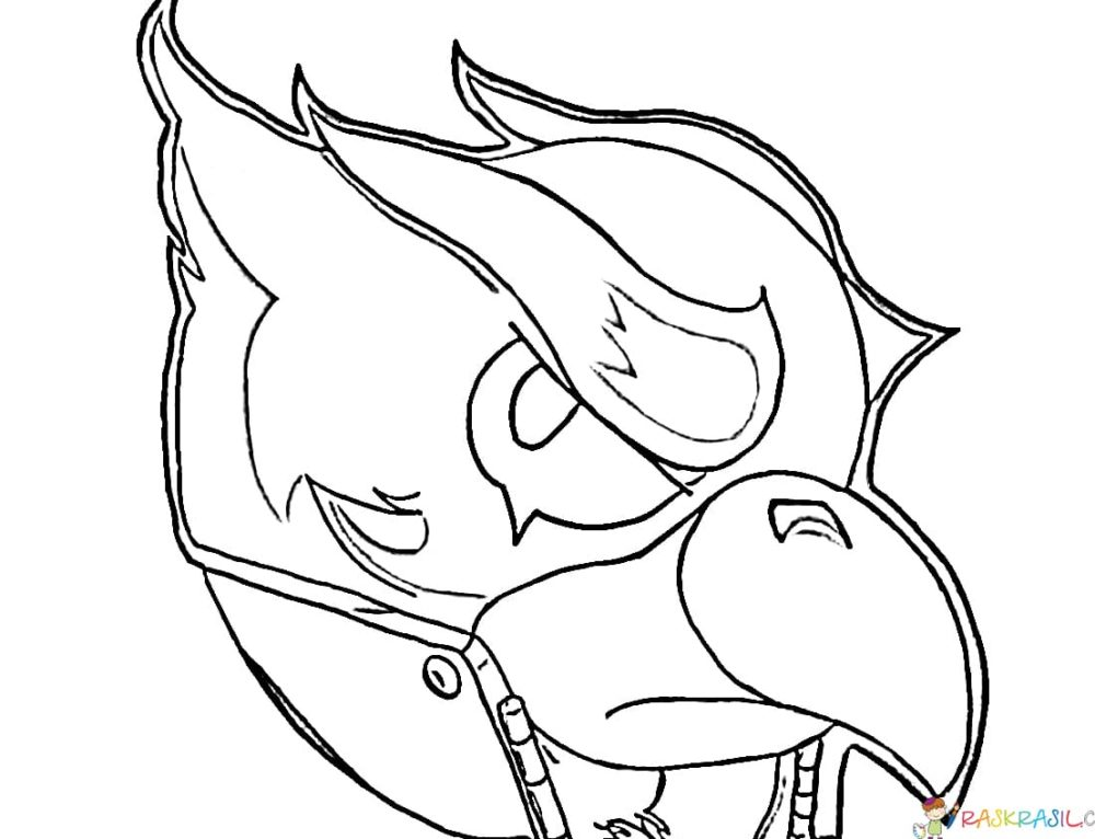 Coloring pages Raven. Print Brawl Stars Hero online