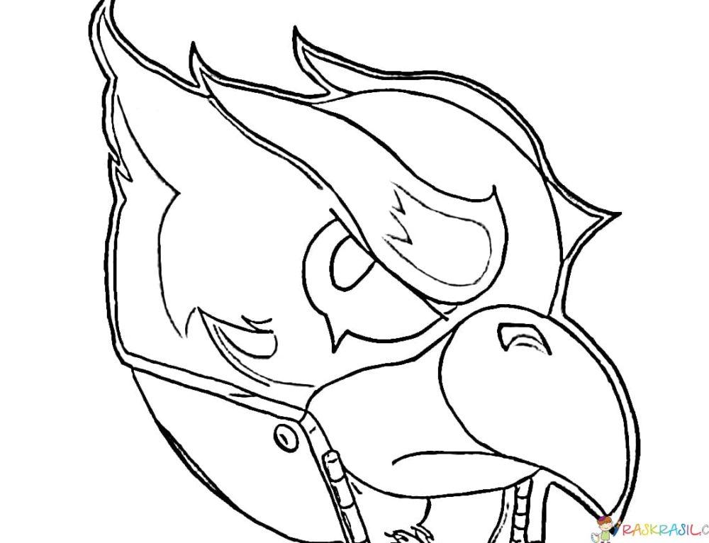 Dibujos para colorear Cuervo. Imprimir un personaje Brawl Stars en línea