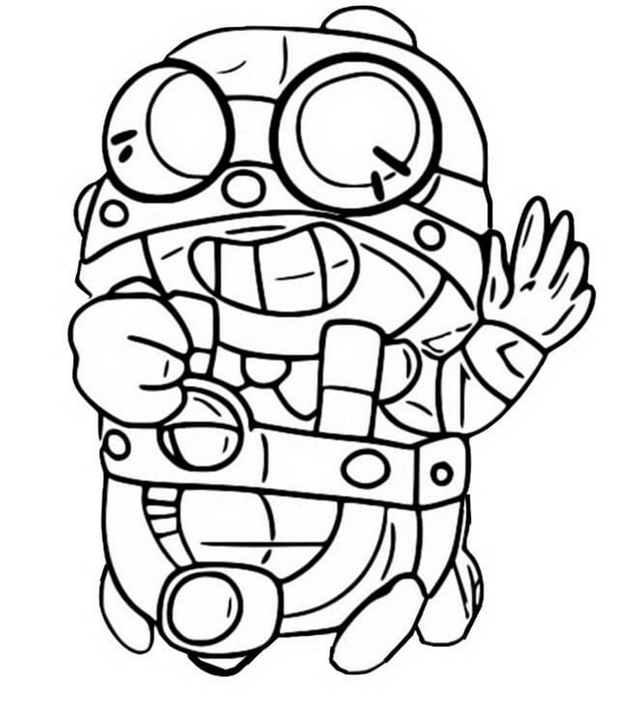 Brawl Stars Coloring Pages Print Them For Free