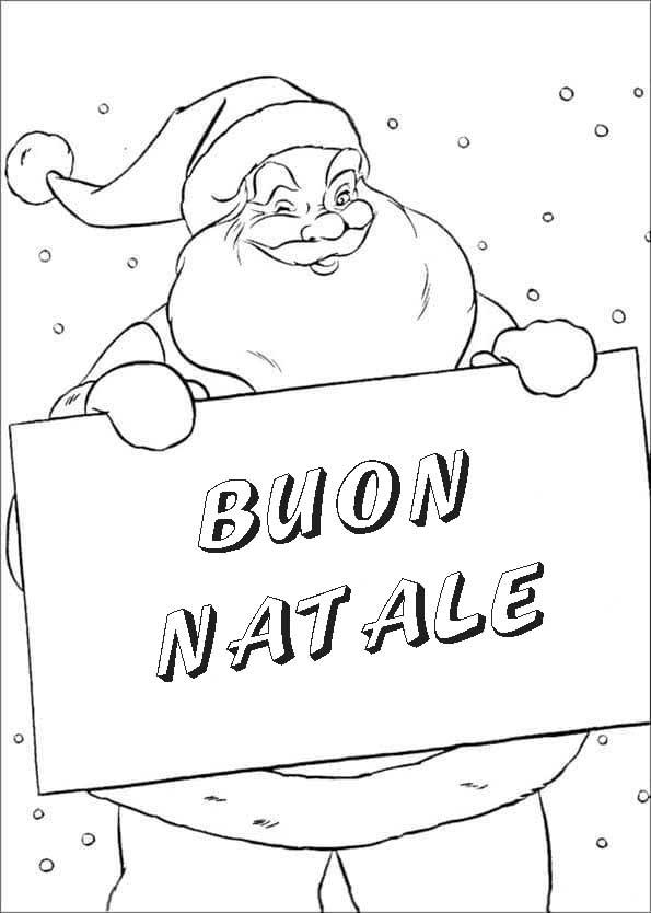 Disegni di Natale da colorare. Scarica o stampa gratuitamente