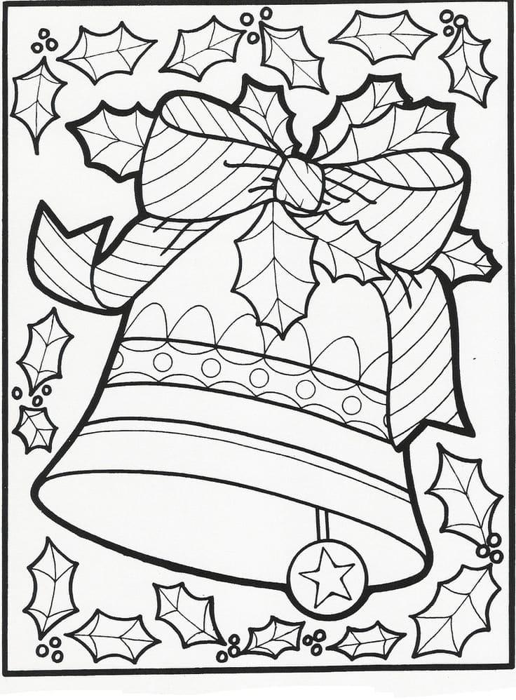 Ausmalbilder Weihnachten. Kostenlos herunterladen oder ausdrucken