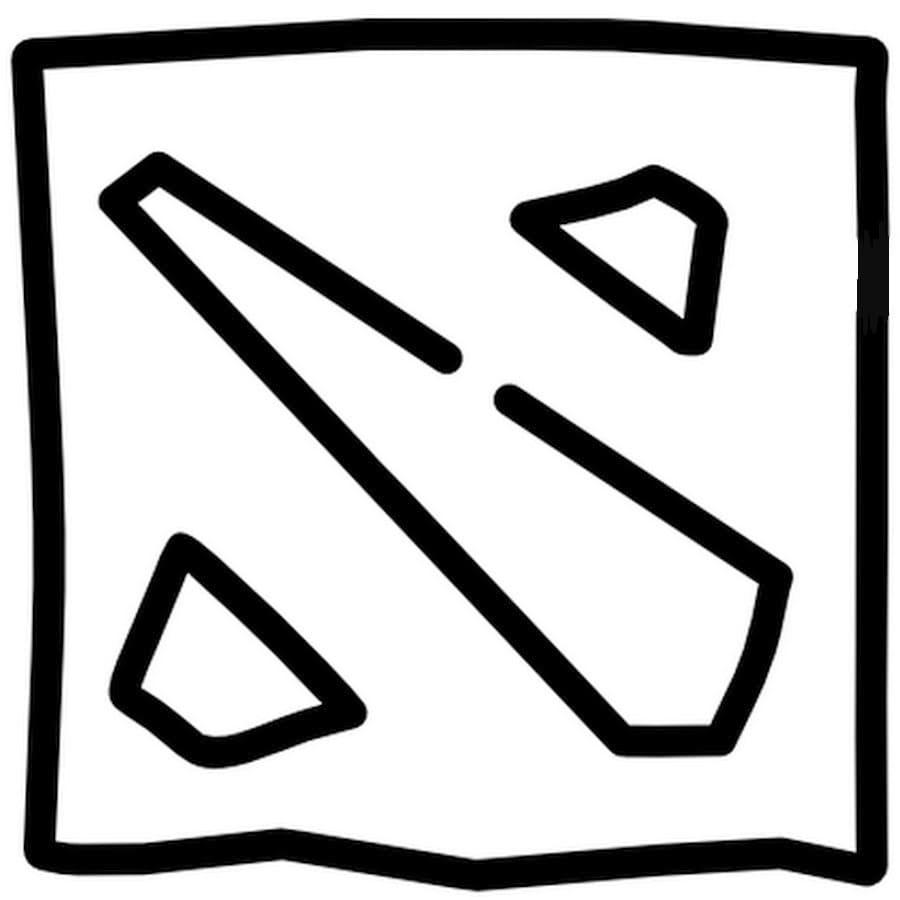 Coloriage Dota 2.Imprimez gratuitement des caractères Dota 2