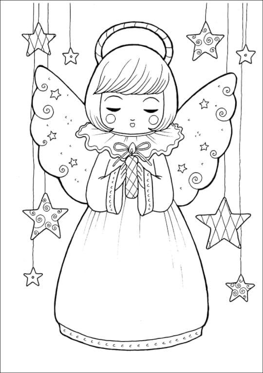 Desenhos do Natal para colorir. Imprima gratuitamente