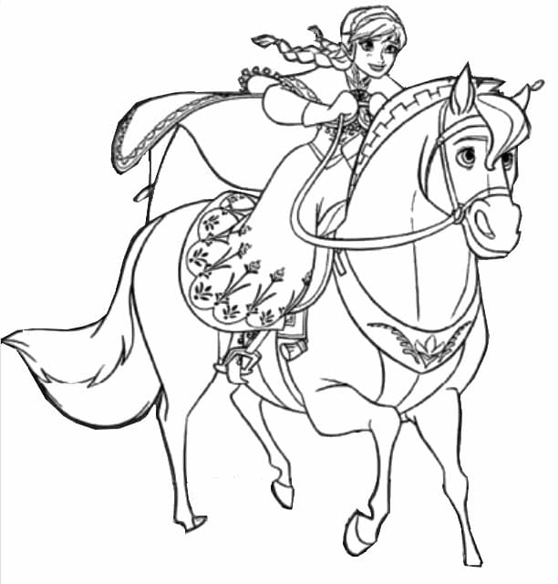 Frozen Coloring Pages 2. 100 images with your favorite characters