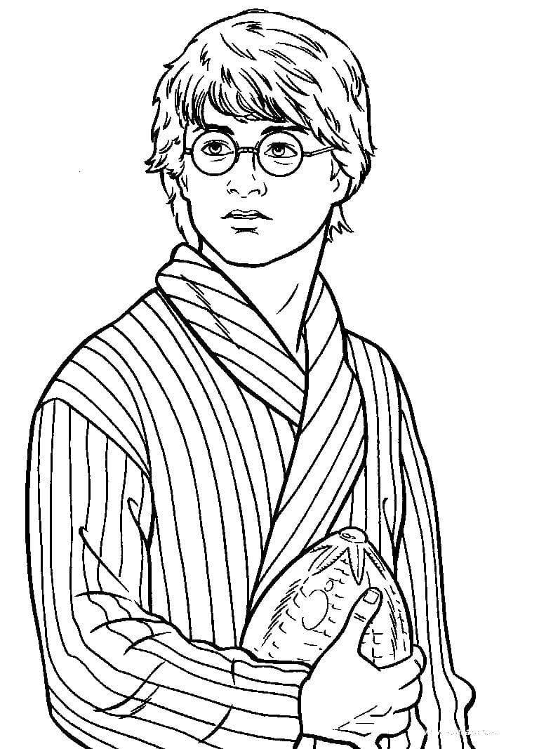 Гарри поттер раскраски картинки