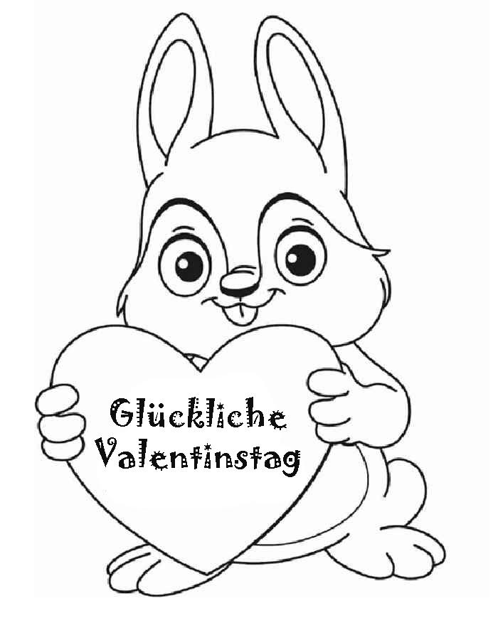 Ausmalbilder Valentinstag Schone Bilder Fur Den 14 Februar