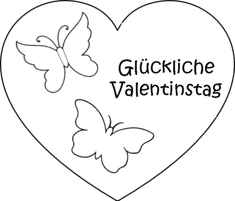ausmalbilder valentinstag schöne bilder für den 14 februar