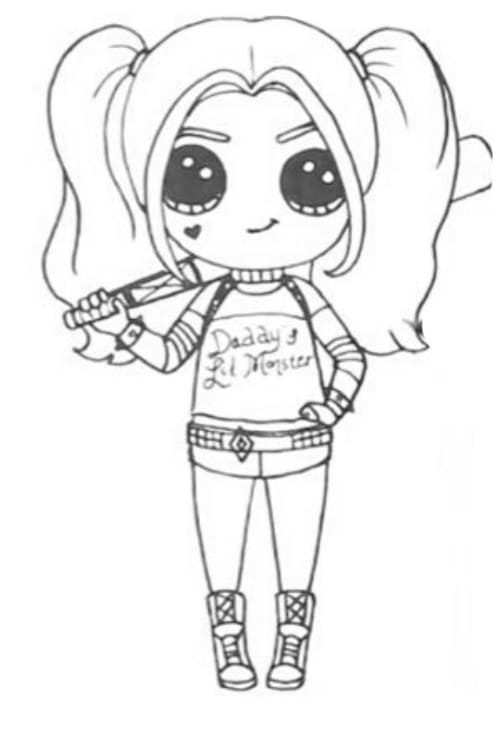 - Harley Quinn Coloring Pages. Print For Free, The Best Images