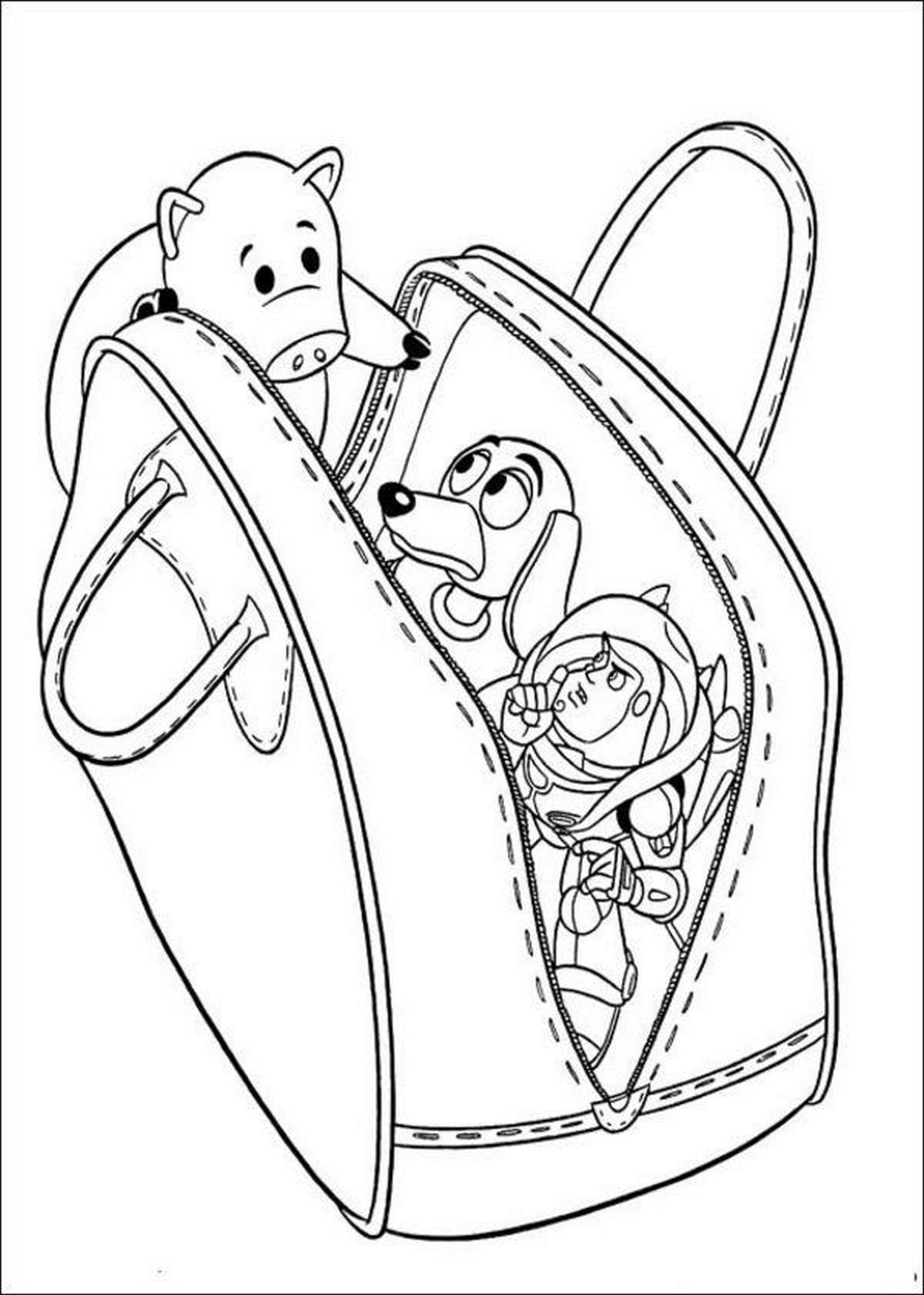 Dibujos de Toy Storypara colorearImprime gratis para niños