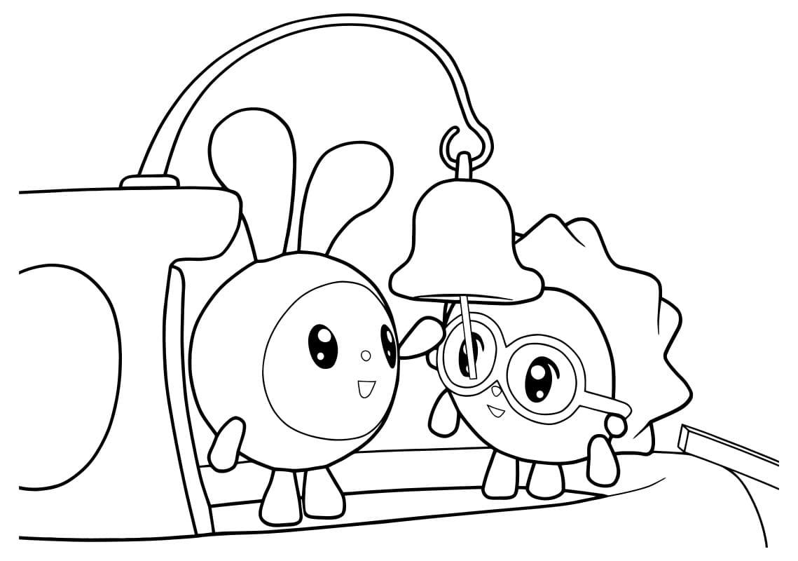 Раскраски Малышарики. Распечатать можно бесплатно