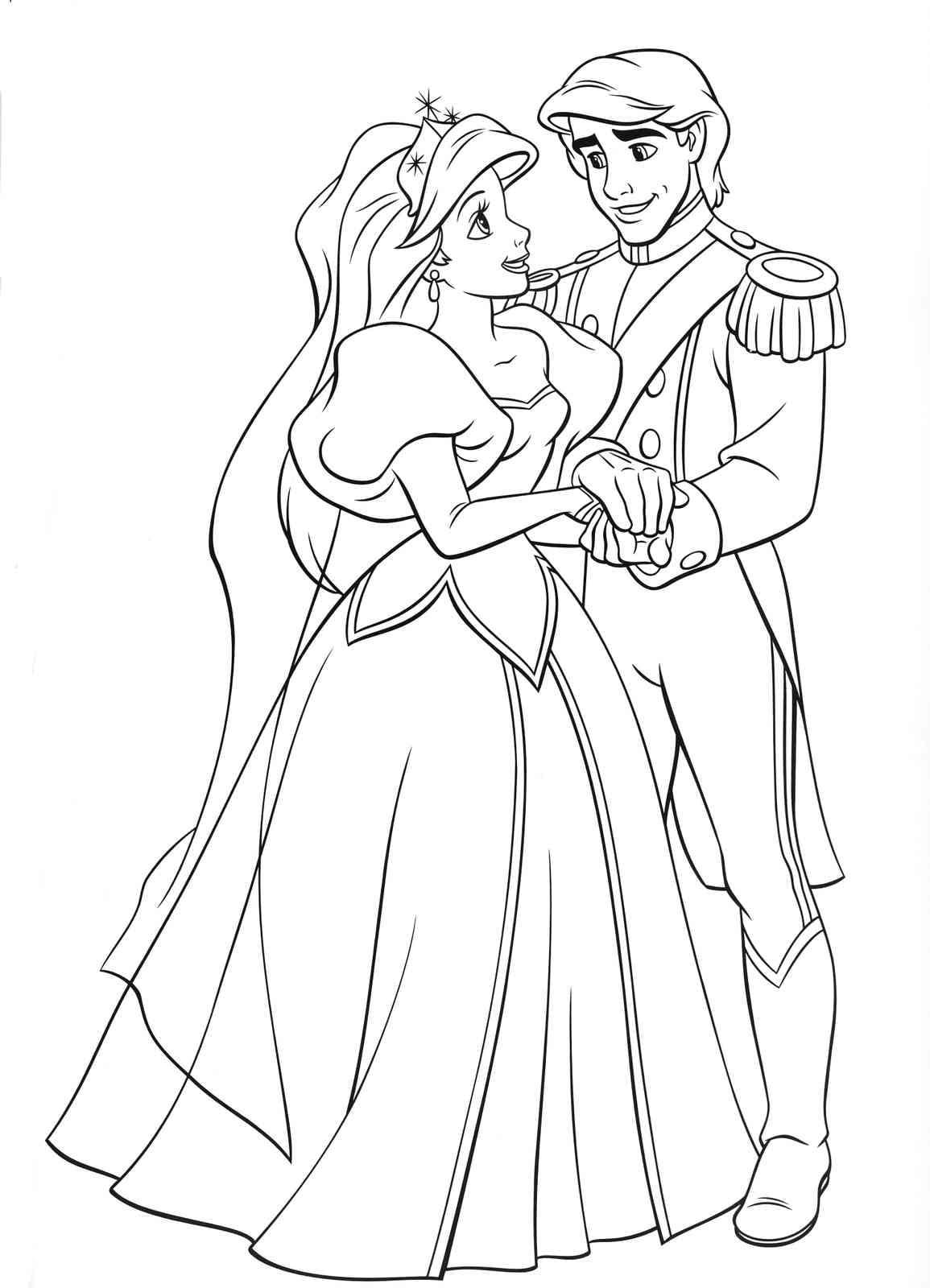 Раскраски Принцессы. Распечатайте бесплатно