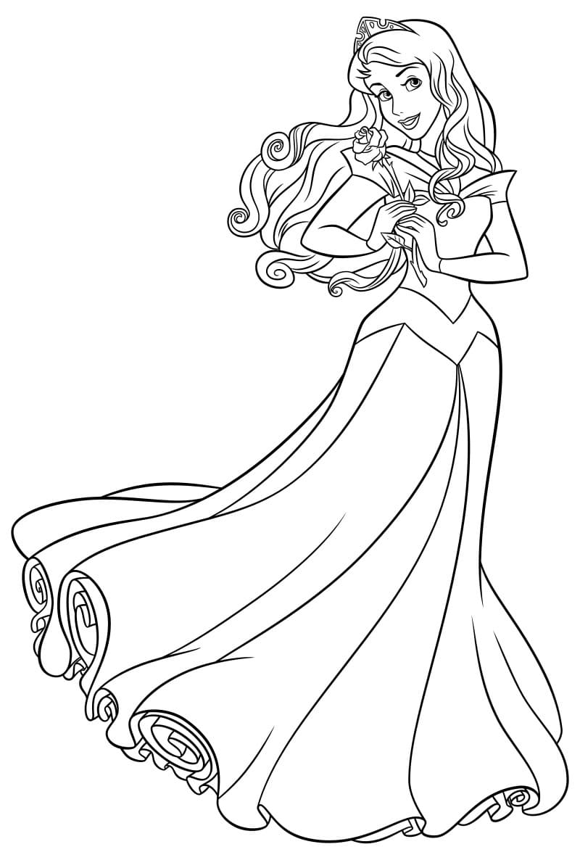 Disegni Di Principessa Da Colorare 100 Immagini Per La Stampa Gratuita