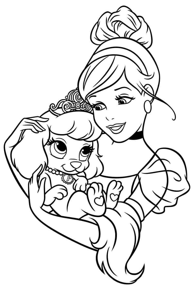 Ausmalbilder für Mädchen 7 Jahre alt. Kostenlos drucken