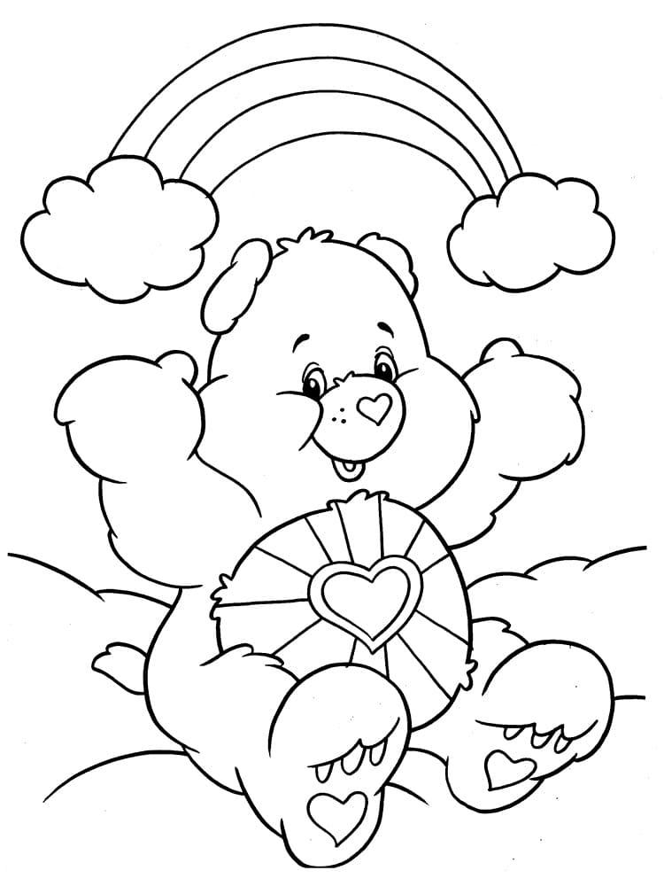 Dibujos para Colorear Arcoiris. Imprima gratis en el sitio web, 60 imágenes
