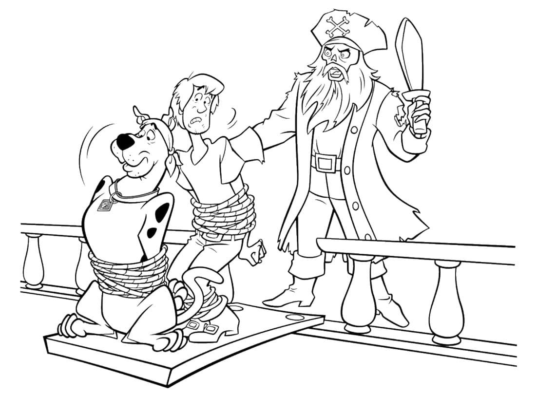 Scooby Doo Coloring Pages. Big collection for children online