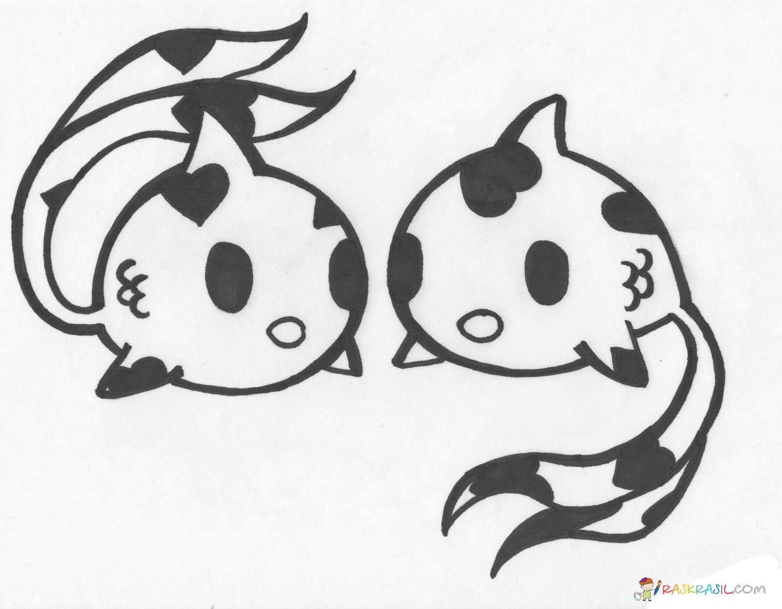 Раскраски Токидоки (Tokidoki). Распечатать бесплатно