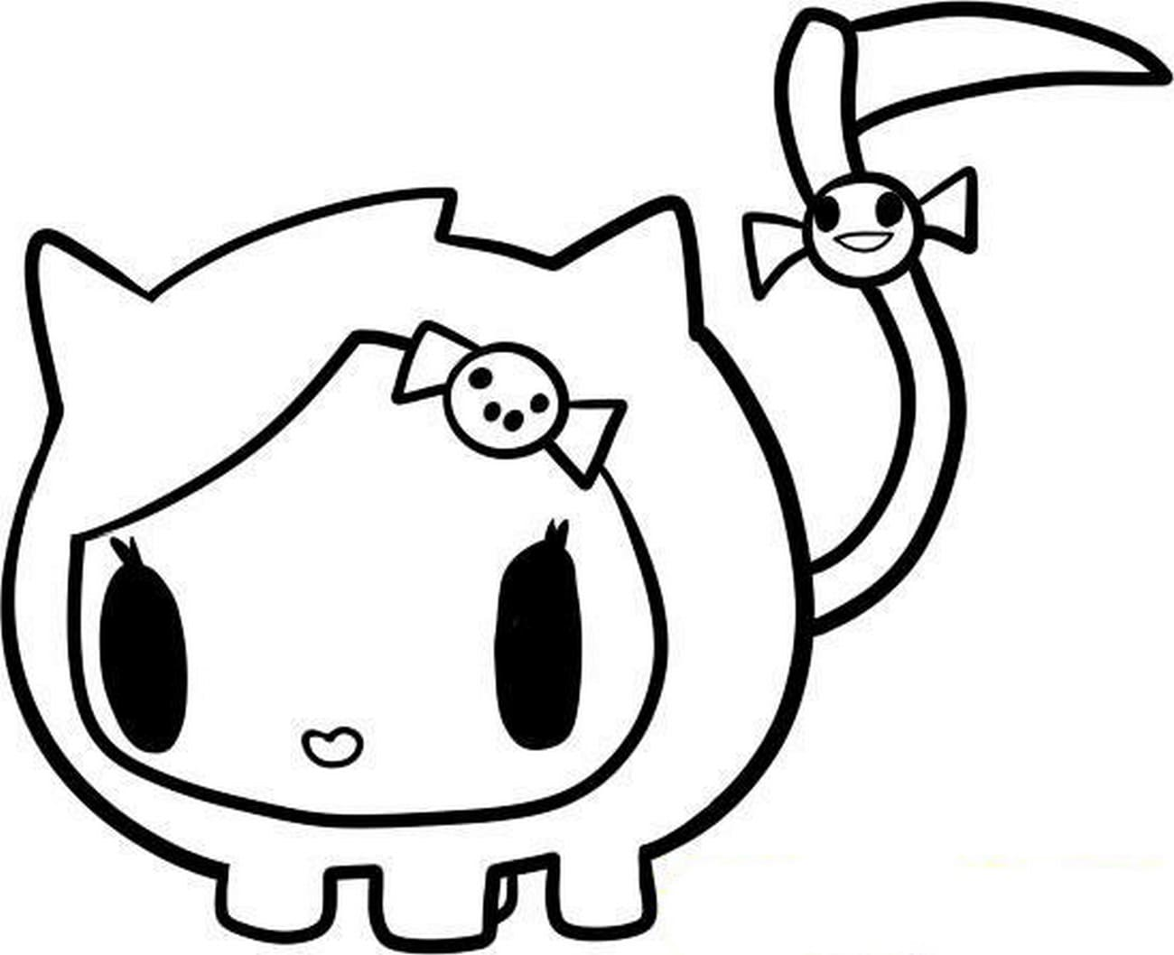 Tokidoki Coloring Pages Print For Free 50 Pictures