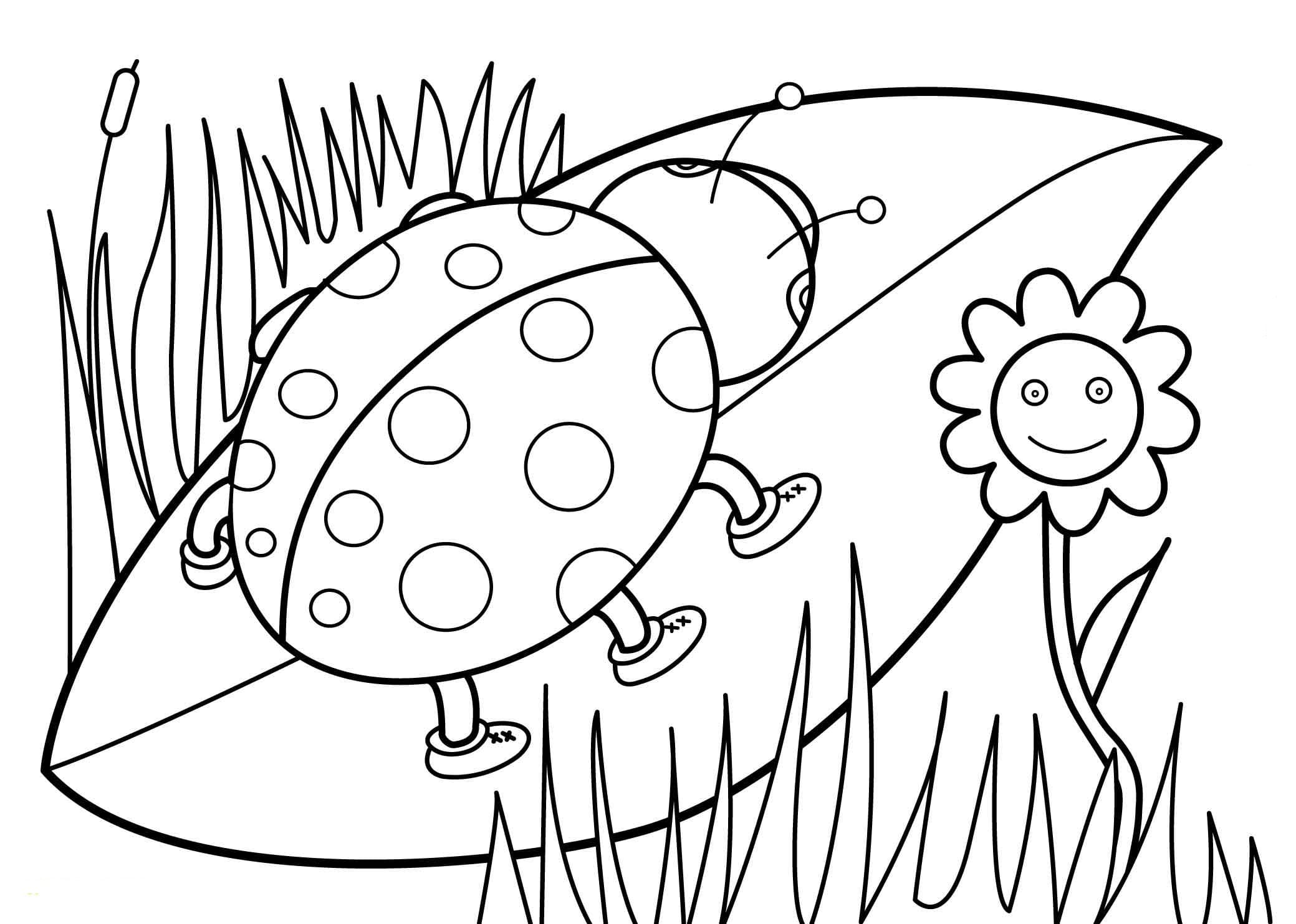 Coloring Pages Spring. Color the spring in the brightest colors