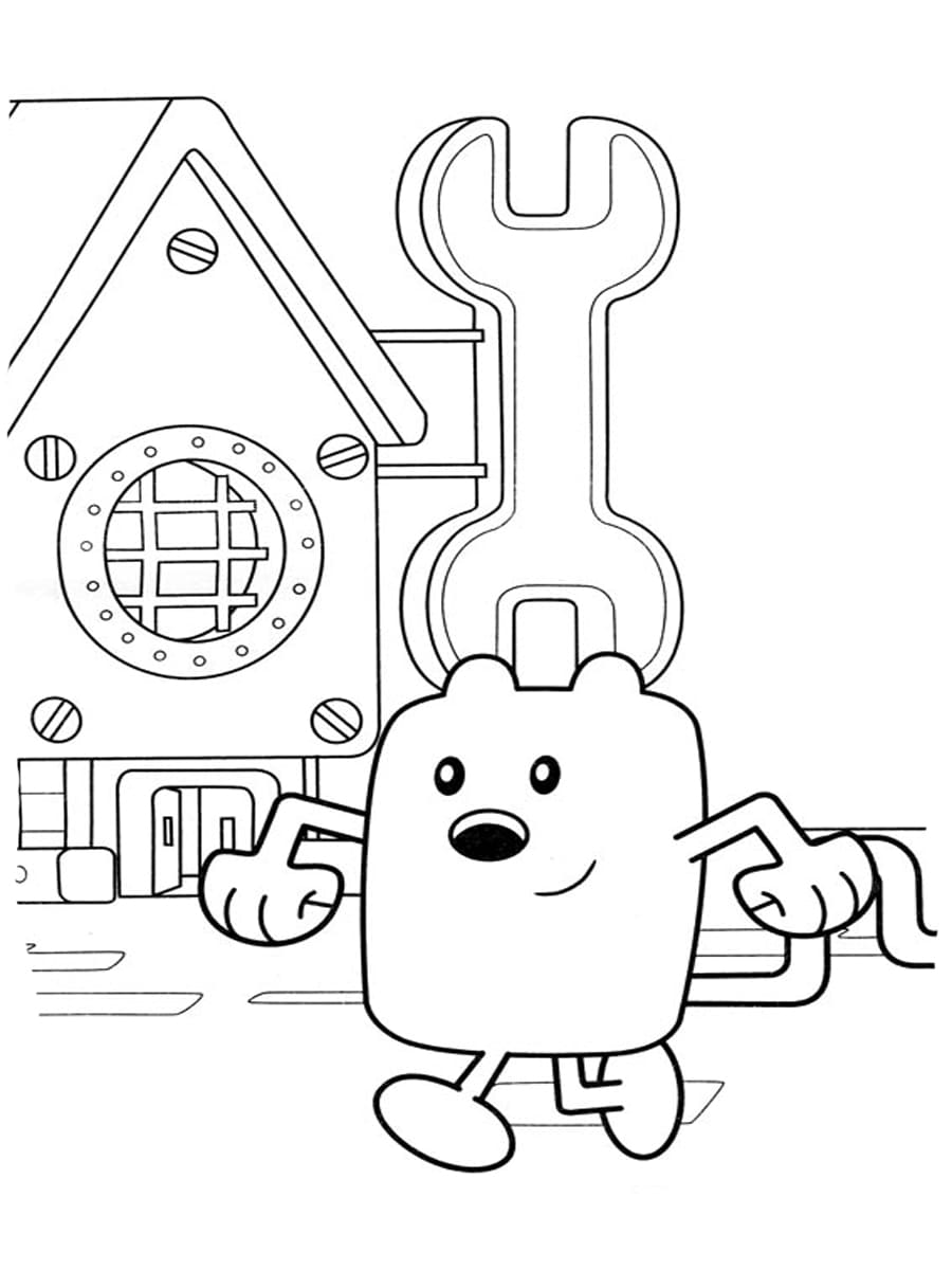 Wow Wow Wubbzy Coloring Pages. Print for Free
