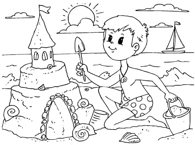 Раскраски Замок. Распечатайте картинки для девочек и мальчиков