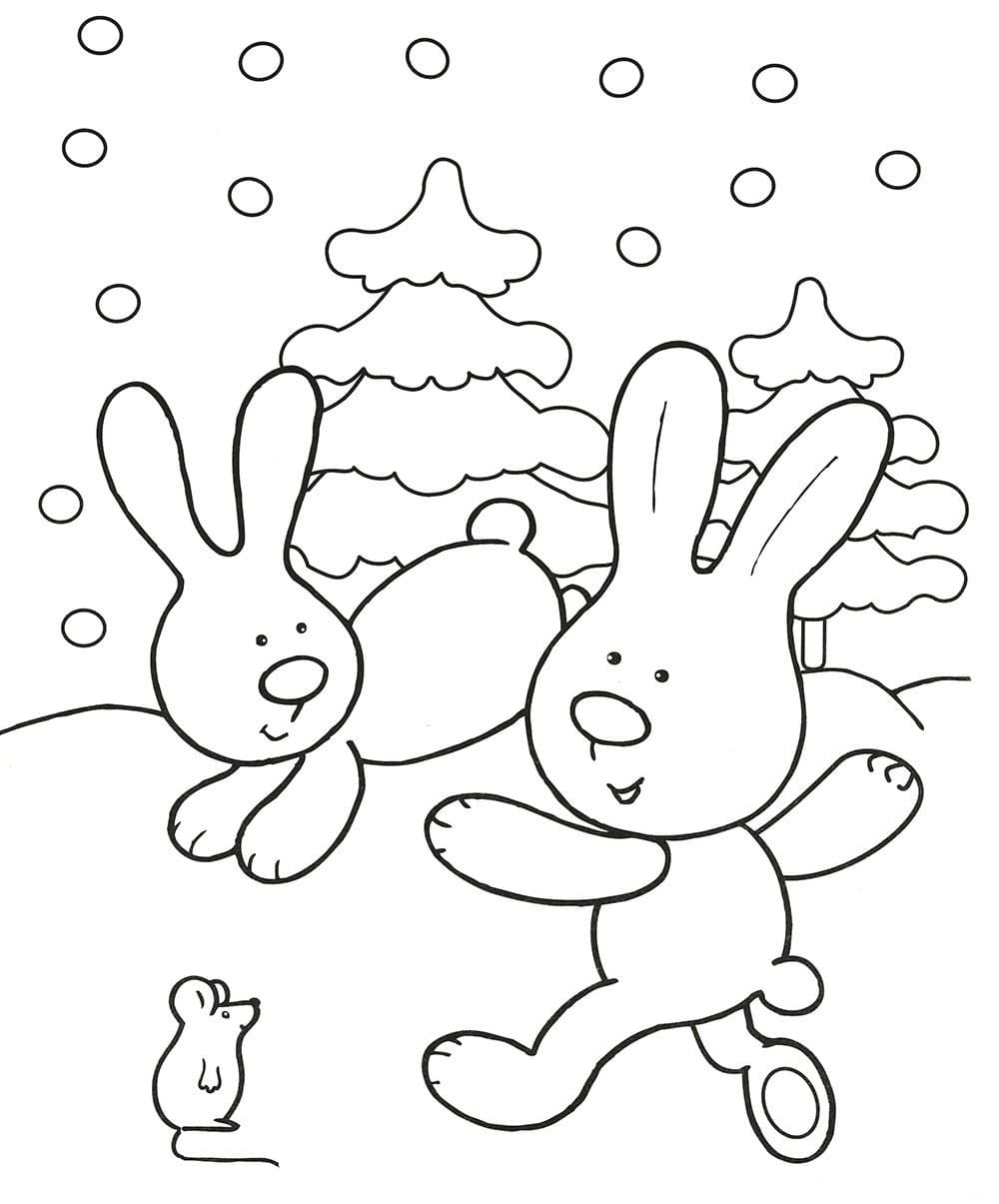 Winter Coloring Pages 80 Images For Children Free Printable