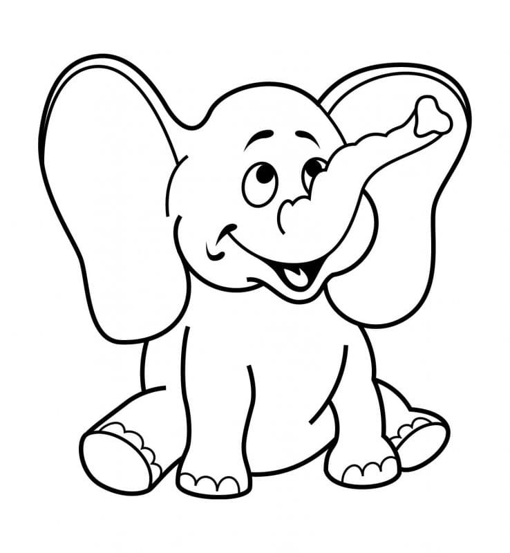 Coloring Pages For 2- To 3-Year-Old Kids. Download Them Or Print Online!
