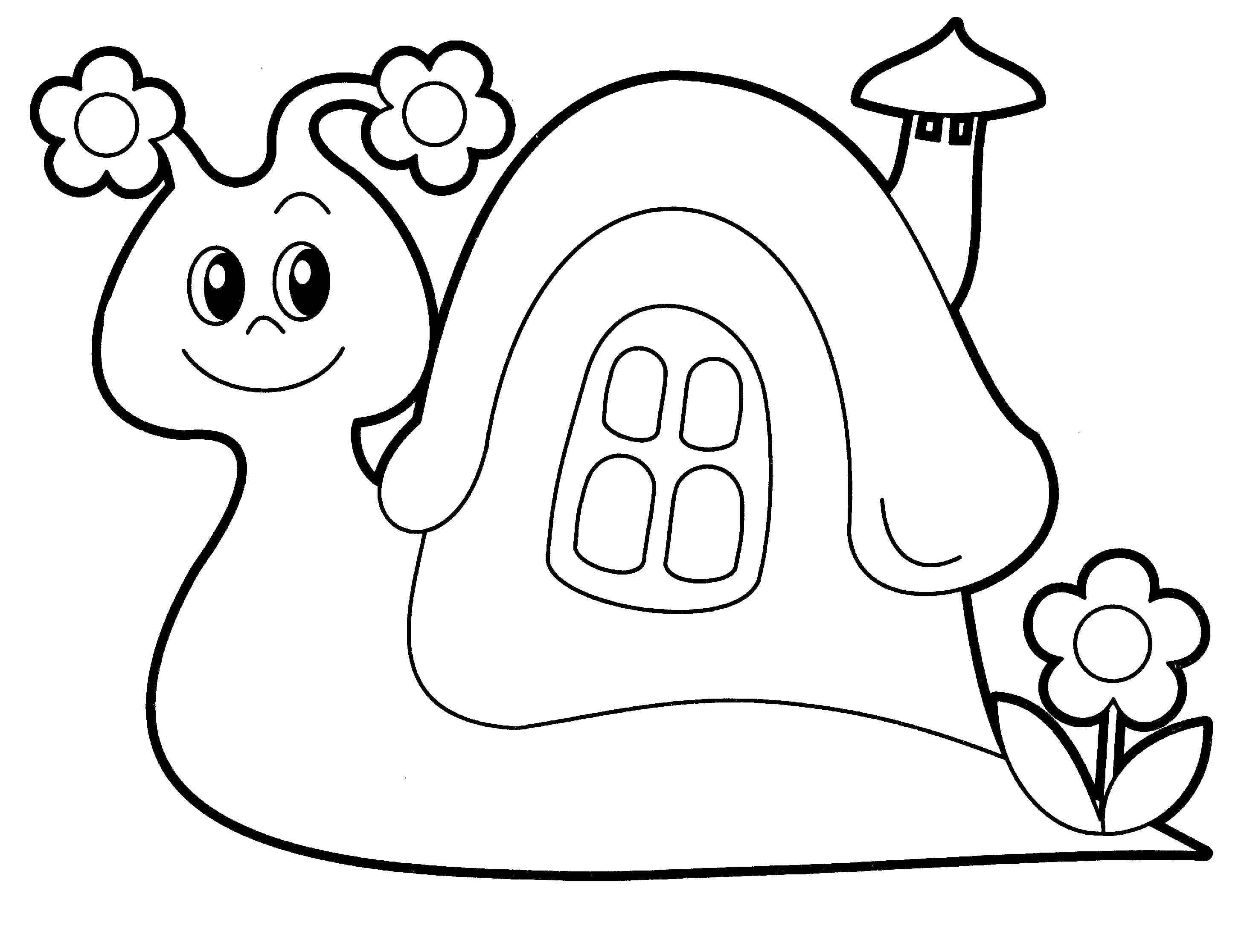 Coloring pages for girls 3-4 years. Download or print online