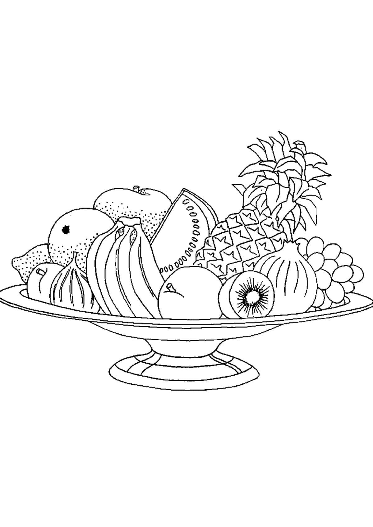 картинка ваза для овощей сложный
