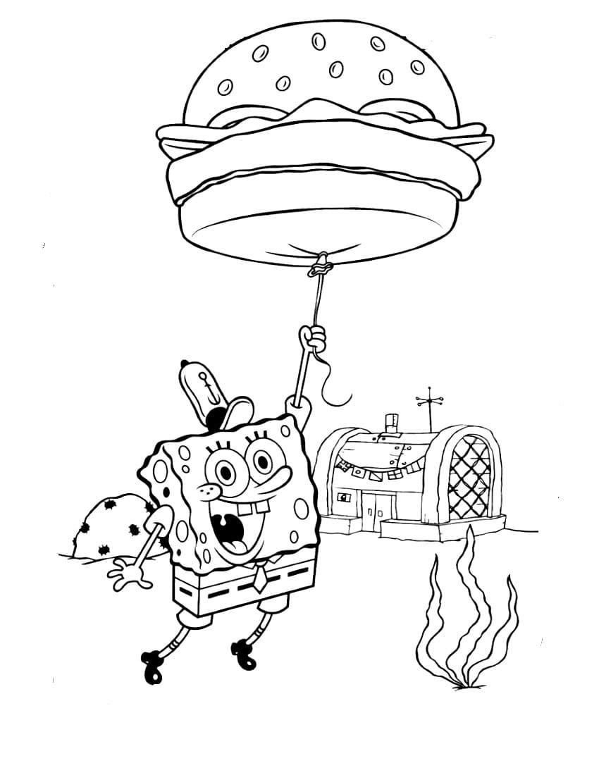 Dibujos Bob Esponja para colorear. Imprime gratis, las mejores imágenes