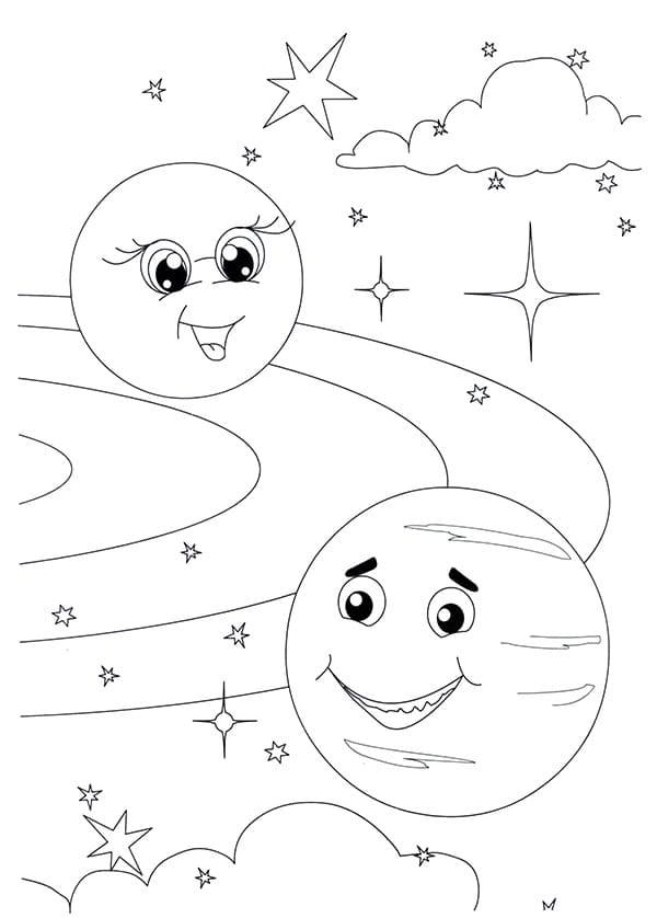 Dibujos para colorear de Espacio. Puedes imprimir gratis, 100 piezas