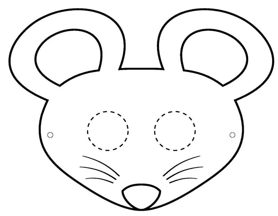 Раскраски Крыса. Скачать или распечатать бесплатно