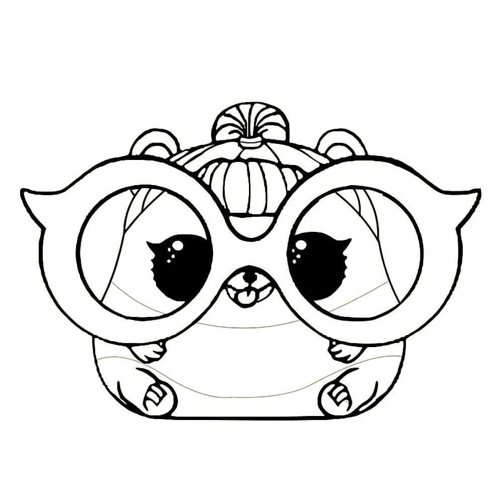 Lol Pets Coloring Pages 25 Images Free Printable