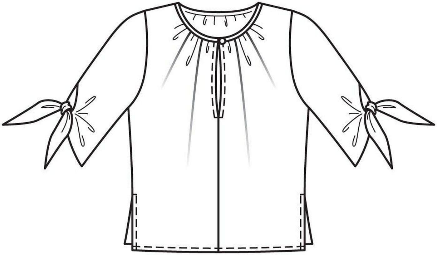Раскраски Одежда. Скачайте или распечатайте онлайн