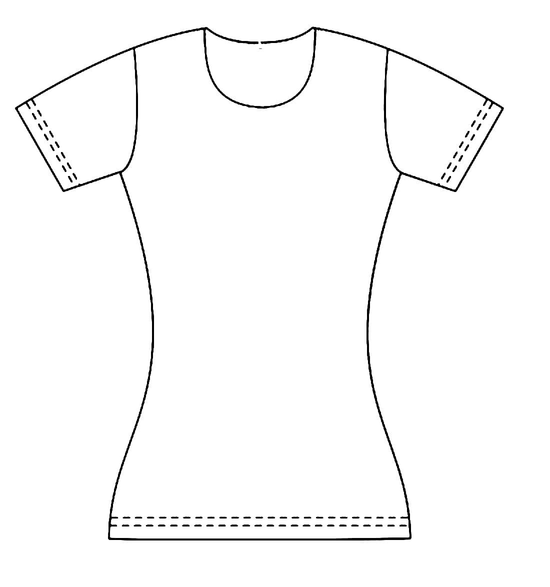Desenhos de Roupas para colorir. Imprima online90 Imagens