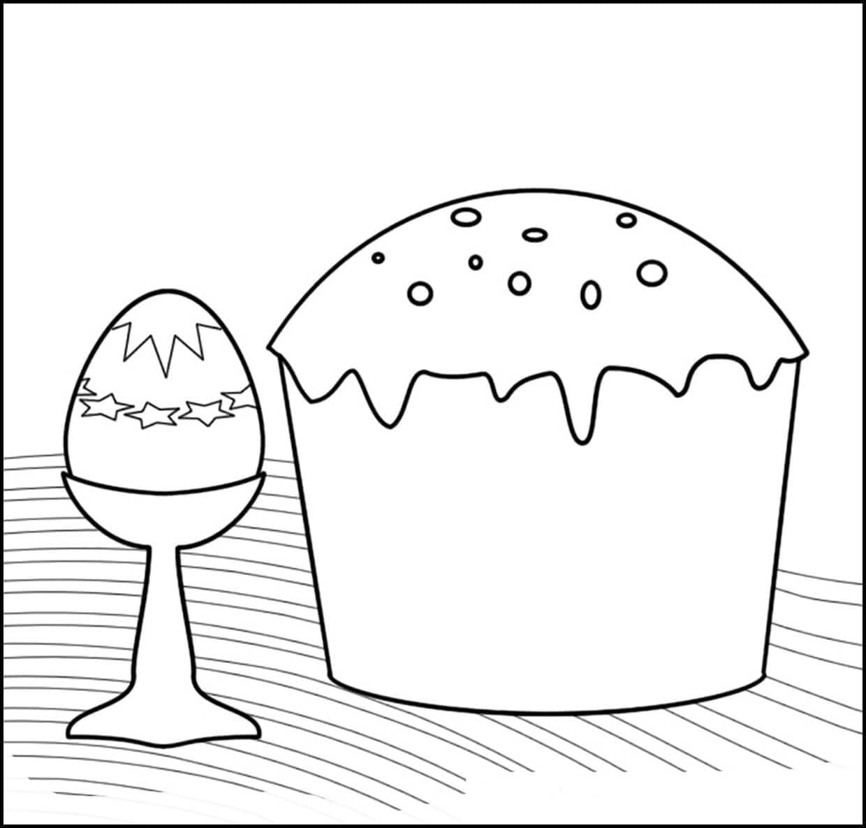 Раскраски Пасха. Распечатайте раскраски Пасхальных яиц