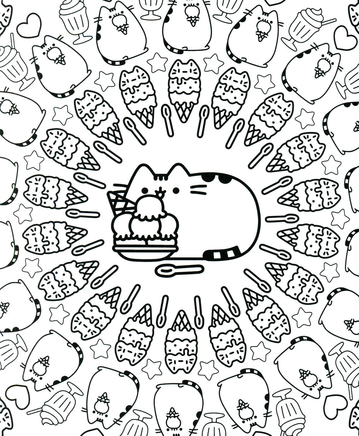 Desenhos para colorir Pushin. Imprimir gratuitamente, 60 imagens