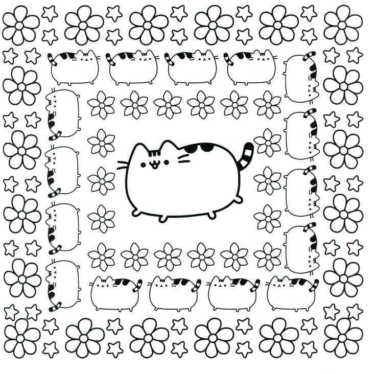 Pusheen Coloring Pages. Print Them Online for Free!
