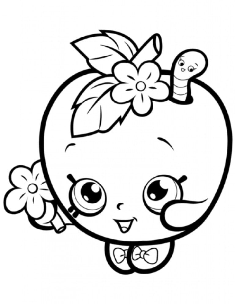 Shopkins Coloring Pages. 110 Best Images Free Printable